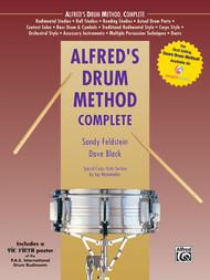 Alfred's Drum Method Complete by Sandy Feldstein & Dave Black