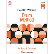 Haskell W. Harr Drum Method, Book 1 (Book/CD Set)