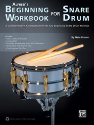 Alfred's Beginning Workbook for Snare Drum by Nate Brown