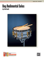 Day Rudimental Solos for Snare Drum, Grade Level 3 (Medium) by Paul Smith
