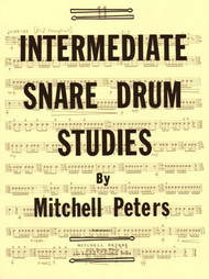 Intermediate Snare Drum Studies by Mitchell Peters