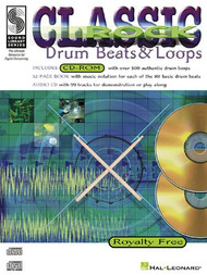 Classic Rock Drum Beats & Loops for Snare Drum (Book/CD Set)