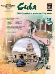 Drum Atlas: Cuba for Snare Drum by Pete Sweeney (Book/CD Set)