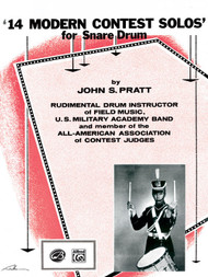 14 Modern Contest Solos for Snare Drum by John S. Pratt