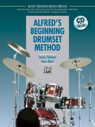 Alfred's Beginning Drumset Method by Sandy Feldstein & Dave Black (Book/CD Set)