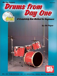 Drums from Day One: A Completely New Method for Beginners by Jim Payne (Book/CD Set)