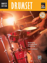 Drumset: Complete Edition by Pete Sweeney (Book/CD Set)