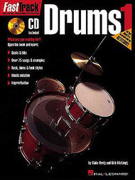 FastTrack Music Instruction: Drums, Book 1 by Blake Neely & Rick Mattingly (Book/CD Set)
