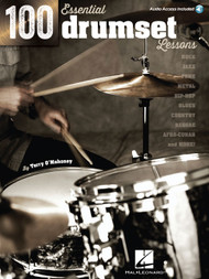 100 Essential Drumset Lessons by Terry O'Mahoney (with Audio Access)