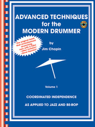 Advanced Techniques for the Modern Drummer by Jim Chapin (Book/CD Set)