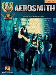 Hal Leonard Drum Play-Along Vol. 26 - Aerosmith (Book/CD Set)