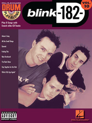 Hal Leonard Drum Play-Along Vol. 10 - Blink-182 (Book/CD Set)