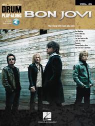 Hal Leonard Drum Play-Along Vol. 45 - Bon Jovi (with Audio Access)