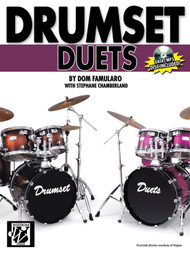 Drumset Duets by Dom Famularo & Stephane Chamberland (Book/CD Set)