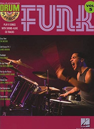 Hal Leonard Drum Play-Along Vol. 5 - Funk (Book/CD Set)