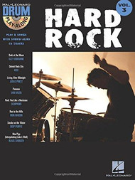 Hal Leonard Drum Play-Along Vol. 3 - Hard Rock (Book/CD Set)