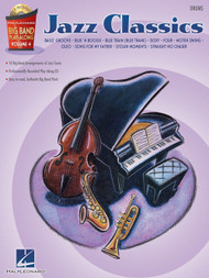 Hal Leonard Big Band Play-Along Volume 4 - Jazz Classics for Drums (Book/CD Set)