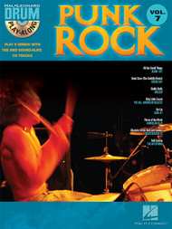 Hal Leonard Drum Play-Along Vol. 7 - Punk Rockk (Book/CD Set)