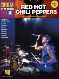Hal Leonard Drum Play-Along Vol. 31 - Red Hot Chili Peppers (Book/CD Set)