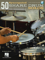 50 Syncopated Snare Drum Solos by Sperie Karas (with Audio Access)