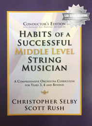 Habits of a Successful Middle Level String Musician - Conductor's Edition