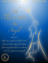 Oh That I Were An Angel - Wanda West Palmer - Vocal Solo (Low)