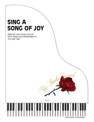 Sing a Song of Joy (Medium Low) - Vocal Solo Songbook with Piano Accompaniments