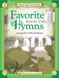 Center Stage Sacred Series - Favorite Hymns, Book 2 for Big-Note Piano