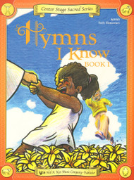 Center Stage Sacred Series - Hymns I Know, Book 1 for Big-Note Piano