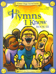 Center Stage Sacred Series - Hymns I Know, Book 3 for Big-Note Piano
