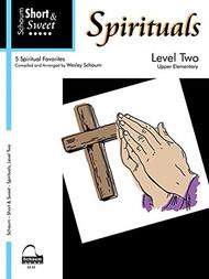 Schaum Short & Sweet - Spirituals, Level 2 for Big-Note Piano