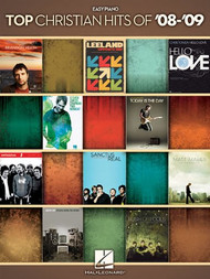 Top Christian Hits of '08-'09 for Easy Piano