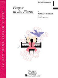 FJH Achievement Sacred Sheets - Prayer at the Piano Sheet Music for Early Elementary / Easy Piano