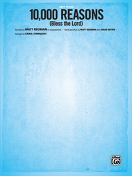 10,000 Reasons (Bless the Lord) Sheet Music by Matt Redman for Easy Piano