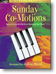 The FJH Sacred Piano Ensemble Library - Sunday Co-Motions: Sacred Favorites for 4 Hands at 1 Piano for Late Intermediate Piano Duets