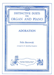 Felix Borowski - Adoration Set of Parts for Organ and Piano Duet