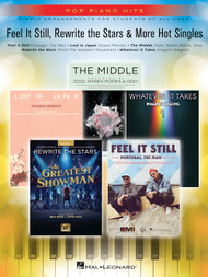 Feel it Still, Rewrite the Stars & More Hot Singles - Easy Piano Songbook