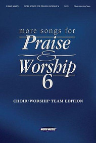 More Songs for Praise & Worship, Volume 6 for Piano / Vocal / Guitar