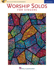 Worship Solos for Singers (Book/CD Set) for High Voice / Piano