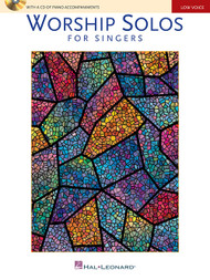 Worship Solos for Singers (Book/CD Set) for Low Voice / Piano