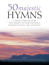 50 Majestic Hymns for Piano / Vocal / Guitar