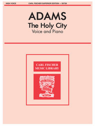 The Holy City Single Sheet for High Voice / Piano Solo