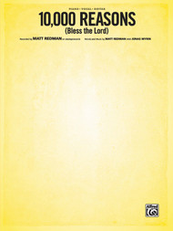 10,000 Reasons (Bless the Lord) Single Sheet for Piano / Vocal / Guitar Solo