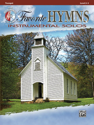 Alfred's Instrumental Play-Along - Favorite Hymns Instrumental Solos, Level 2-3 (Book/CD Set) for Trumpet