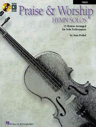 Praise & Worship Hymn Solos (Book/CD Set) for Violin