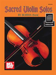 Sacred Violin Solos by Burt Isaac (with Online PDF)