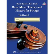 Basic Music Theory and History for Strings Workbook 2 - Violin
