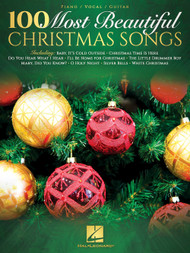 100 Most Beautiful Christmas Songs - Piano/Vocal/Guitar Songbook