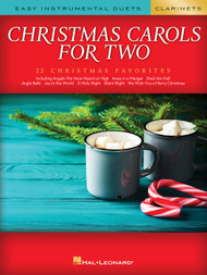 Christmas Carols for Two - Clarinets