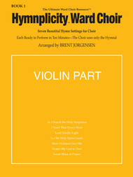 Hymnplicity Ward Choir Book 1 - Violin Parts